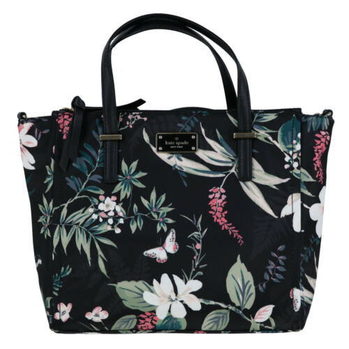 Kate Spade New York Purse Alyse Satchel Wilson Road Botanical Crossbody Bag New