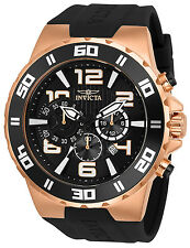 Invicta Men's 'Pro Diver' Quartz Stainless Steel and Polyurethane Watch 24672