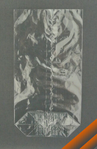 100 echte Cellophanbeutel 95 x 180 biol abbaubare Zellglasbeutel Bodenbeutel