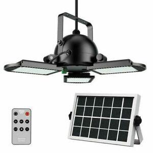 60LED-Outdoor-Solar-Garage-Lights-Indoor-amp-RemoteDeformable-Ceiling-Shop-Light
