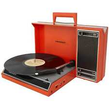 Crosley Spinnerette Portable USB Turntable w/ Audio Editing Software CR6016A-RE