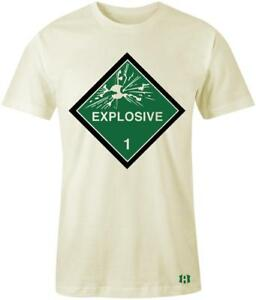 034-Explosive-1-034-T-shirt-to-Match-Retro-034-Pine-Green-034-1-039-s
