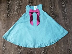 a22cbcfbe2f5 Image is loading Matilda-Jane-bow-pink-teal-dress-6