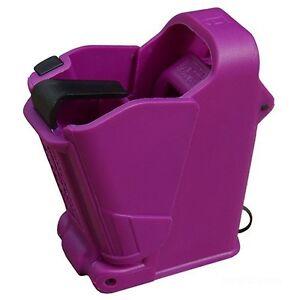Maglula-UpLULA-Handgun-Magazine-Speed-Loader-9mm-to-45acp-Purple-UP60PR-NEW