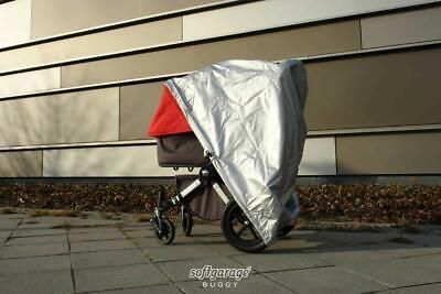 alucush Abdeckung f/ür Kinderwagen Bugaboo Bee Regenschutz Regenverdeck