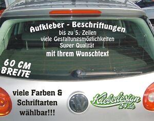 Bis-5-Zeilen-60cm-Aufkleber-Beschriftung-Werbung-Sticker-Heckscheibe-Lack-KFZ
