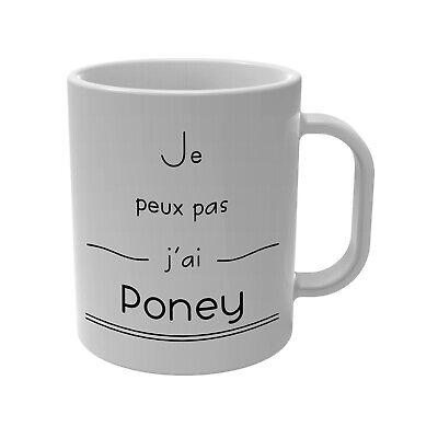 girl Mug//Tasse-En Boîte Cadeau AIME CHEVAUX