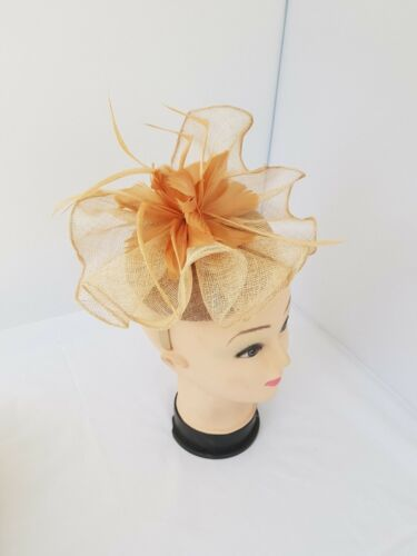 Elegant Headband and clip Fascinator Hat Wedding,Ladies Day,Race Royal Ascot