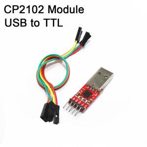 Module-CP2102-USB-TTL-Convertisseur-serie-cable-5v-3-3v-Programmeur-RX-TX