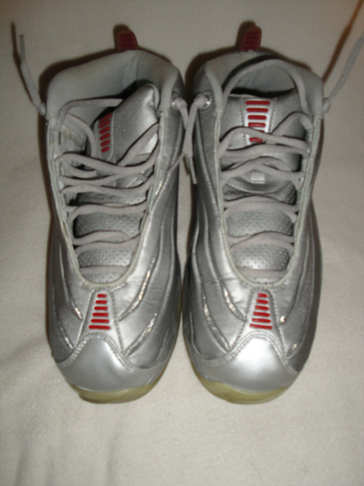 Nike Air Total Max II Size 11.5 Style Metallic Silver / Pro Red