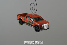 2009 Ford F150 Crew Cab Ext Pickup Truck Custom Christmas Ornament 1/64 emblem