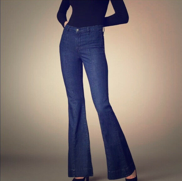 J BRAND Womens Loni 8220C032 Jeans Relaxed Waterloo bluee Size 25