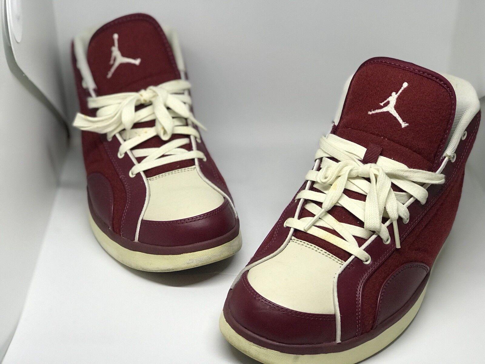 2009 RED Nike Air Jordan PHLY LEGEND PREMIER TEAM RED 2009 LETTERMAN JACKET WOOL 9.5 9d0fc9