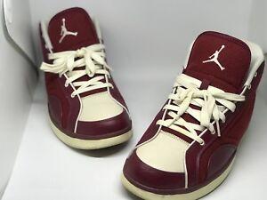 2009 Nike Air Jordan PHLY LEGEND PREMIER TEAM RED LETTERMAN JACKET WOOL 9.5