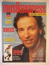 MUSIK EXPRESS SOUNDS 1994 # 5 - BRUCE SPRINGSTEEN SHAQUILLE O'NEIL AEROSMITH
