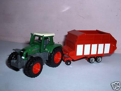 Apprensivo Trattore Siku \ Tractor Trailer Model Modello Agricolo Modellino Con Rimorchio