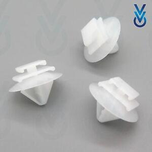 10x Carte ® Vauxhall Pare-chocs Avant Pinces /& bordure attaches 11589289