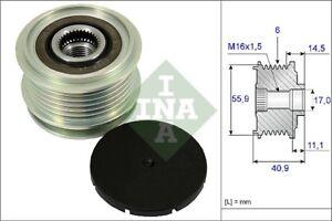 INA-Over-Running-Alternator-Clutch-Pulley-535-0012-10-535001210-5-YR-WARRANTY
