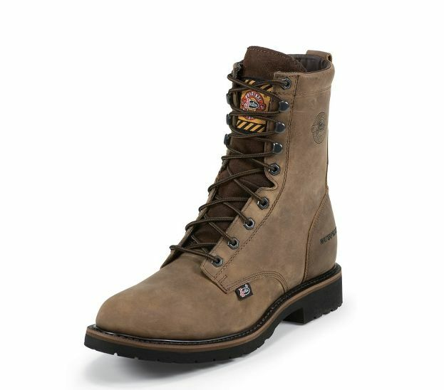 Justin Wyoming Waterproof 8  Work Stiefel Stiefel Stiefel WK960 be9a3e