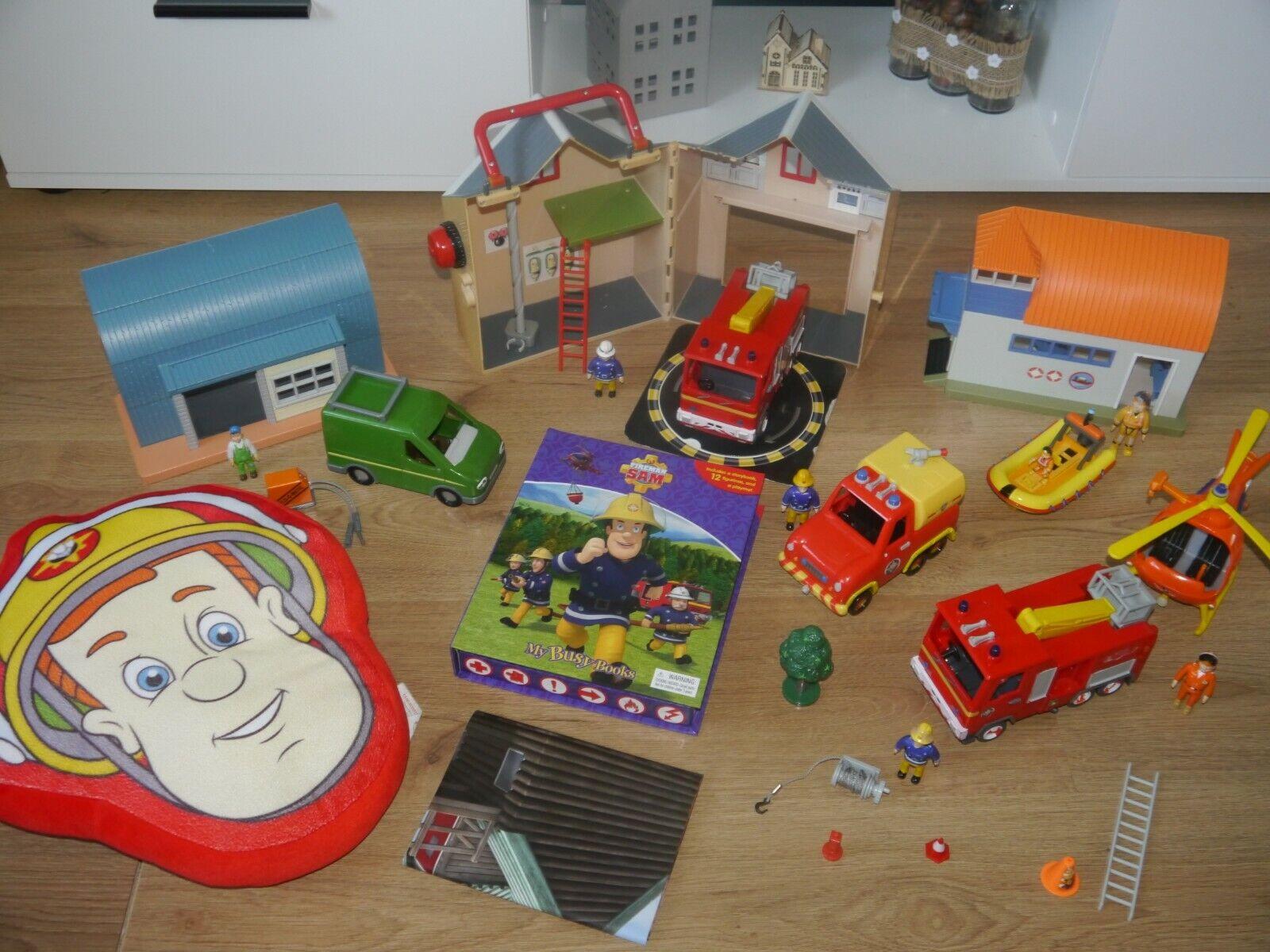 Fireman Sam Large Bundle Toys_3 Buildings_6 Vehicles_6 Figures & Many More_12