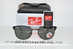 e81ad07637 Image is loading New-Ray-Ban-Authentic-Signet-Black-Polarized-RB3429-