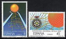 SPAIN MNH 1988 SG2951-52 EXPO '92, Seville