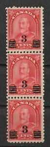 Canada-1932-3-provisional-overprint-strip-of-3-SC-191-MNH