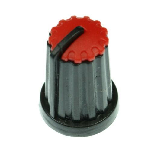 8 Colours D-Shaft 270° Plastic Pot Knobs for 6mm Potentiometer Rotary Encoder