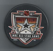 2002  NHL All-Star Game  Los Angeles CA  Souvenir Hockey Puck
