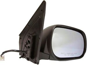 NEW LEFT SIDE POWER MIRROR BLACK HEATED FITS 2007-2012 DODGE CALIBER 5074209AG
