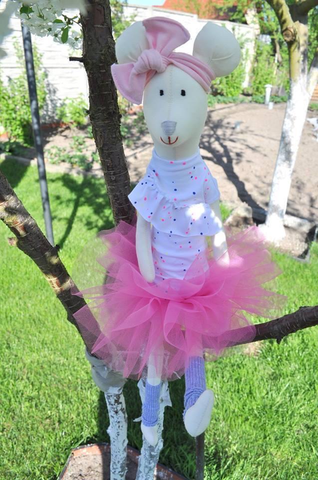 Puppe Stoffpuppe Mädchen Baby Plüsch Handarbeit Weich Geschenk Handmade Stoff