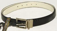 Stacy Adams - Reversible - Black & White - Genuine Leather Dress Belt Sz 42