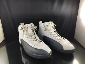 huge discount 6e127 2fbd9 Image is loading Nike-Air-Jordan-12-Flint-Gray-size-11
