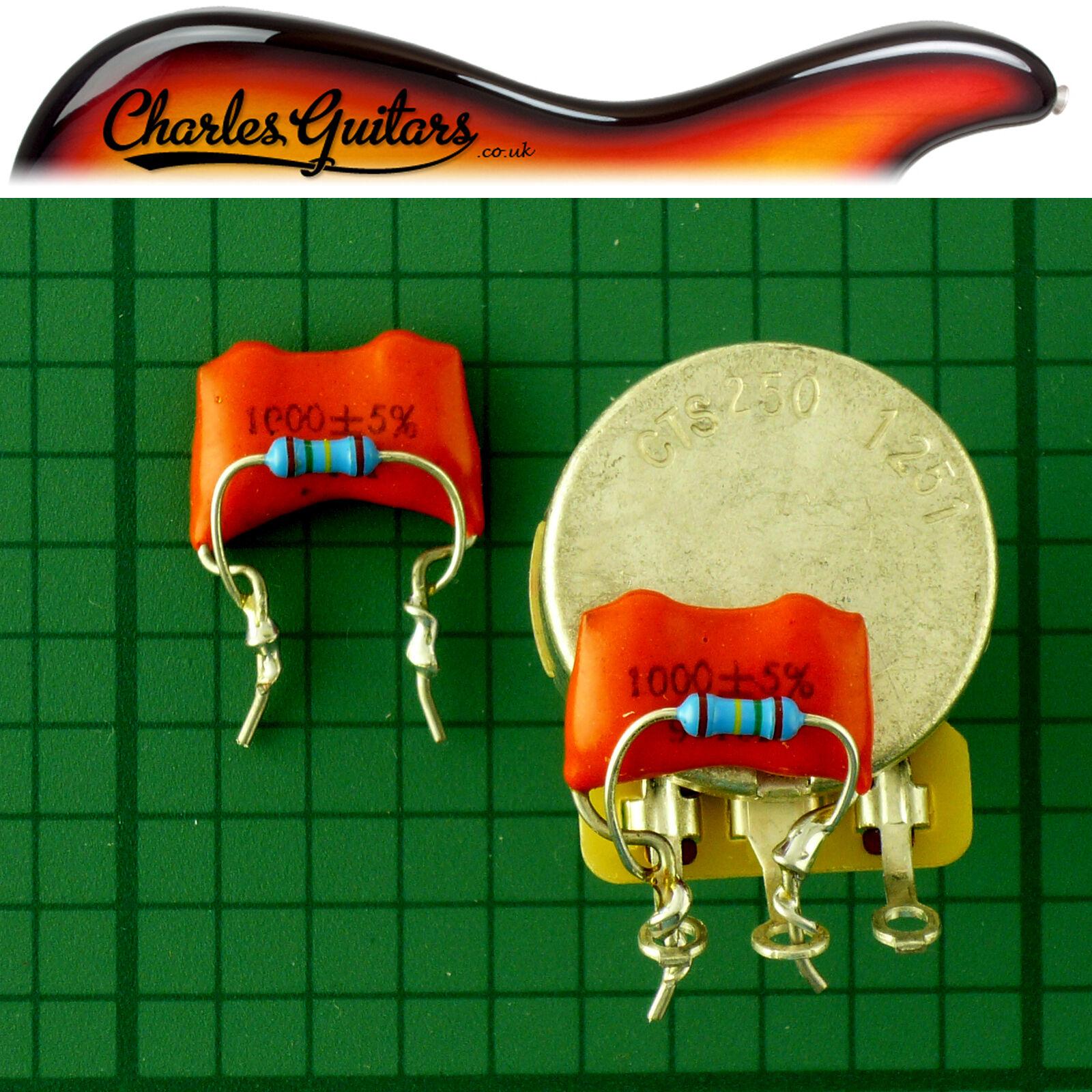 Parts & Accessories 6x Ebony Bridge Pins & Ivory Slotted