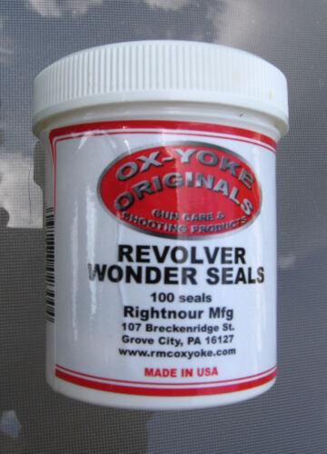 """Ox-Yoke /""""Wonder Seals/"""" .44 Cal Fits All BP Revolvers Pietta Uberti /& Others"""