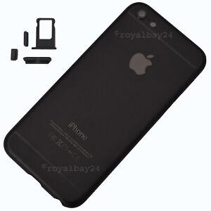 IPHONE-5s-in-IPHONE-7-look-Aluminium-Mittel-Rahmen-Black-Housing-Buttons