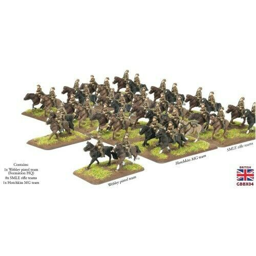 FLAMES OF WAR - GREAT WAR -  GBBX04 - CAVALRY TROOP