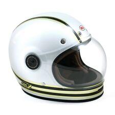 Bell Bullitt Carbon RSD Mojo Motorcycle Helmet - White Gold - Large