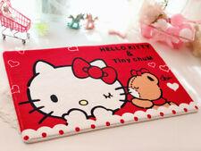 Hello Kitty Non-slip Bedroom Doormats Floor Kitchen  Mat Carpet foot pad lovely