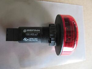 Werma 150.X00.67 LED / Buzzer Amber Signal 115V NEW!!! Free Shipping