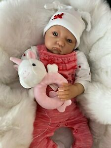Cherish Dolls New Reborn Doll Baby Poppy Fake Babies Realistic 22 Newborn Girl Ebay