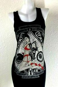 Addiction-Brand-Black-tube-dress-vintage-printed-old-school-biker-tattoo-style