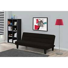 Dhp Kebo Futon Couch Bed With Microfiber Black Ebay