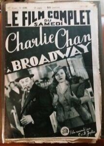 C1-CHARLIE-CHAN-a-BROADWAY-Warner-OLAND-1938-FILM-COMPLET-Illustre