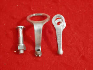 Vintage-Mafac-Brake-Cable-Guide-Front-Rear-1-inch-Flat-Sided-Road-Used