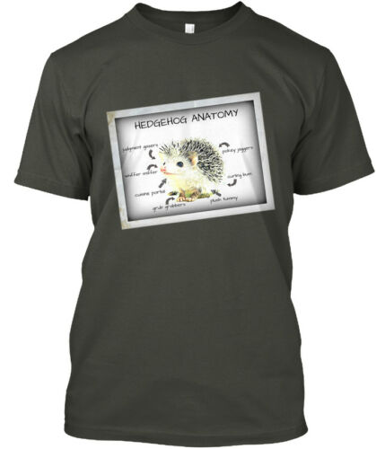 Hedgehog Anatomy Hanes Tagless Tee T-Shirt