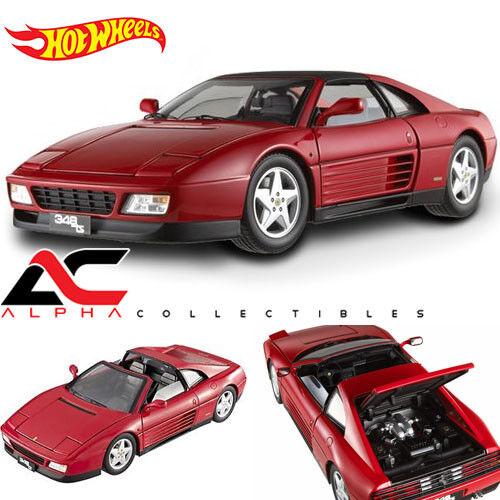 Red Hot Wheels Limited Edition HotWheels ELITE 1:18 scale Ferrari Testarossa