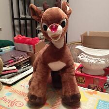 Build A Bear Workshop Musical RUDOLPH THE RED NOSE REINDEER Soft Plush LARGE16""