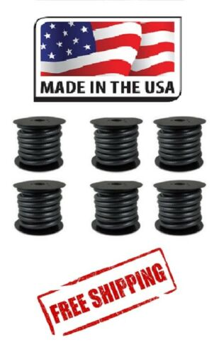FUEL HOSE /& VACUUM HOSE 6 ROLL ASSORTMENT MADE IN USA GAS BIODIESEL E85 THERMOID