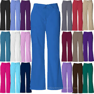 0f37e26899a Image is loading Dickies-Scrubs-Women-EDS-Cargo-Pocket-Pants-Elastic-